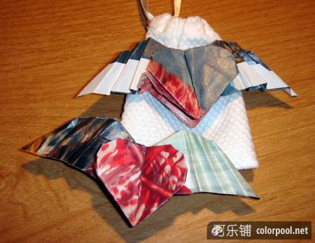 简单信纸的折法_简单纸花的折法图解